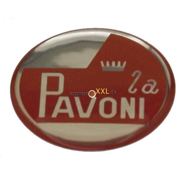 aufkleber mit la pavoni logo 30 7 mm selbstklebend f. Black Bedroom Furniture Sets. Home Design Ideas