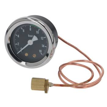 MANOMETER PUMPENDRUCK | 0÷16 BAR - | ø 49 mm - 1/8 | |...