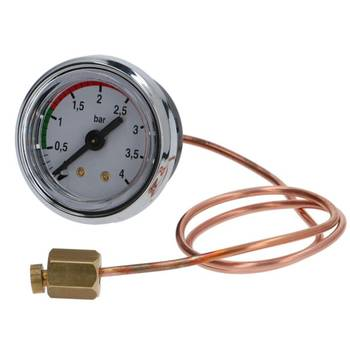 MANOMETER KESSELDRUCK | ø 40 mm - 0÷4 bar | FÜR VBM SUPER...