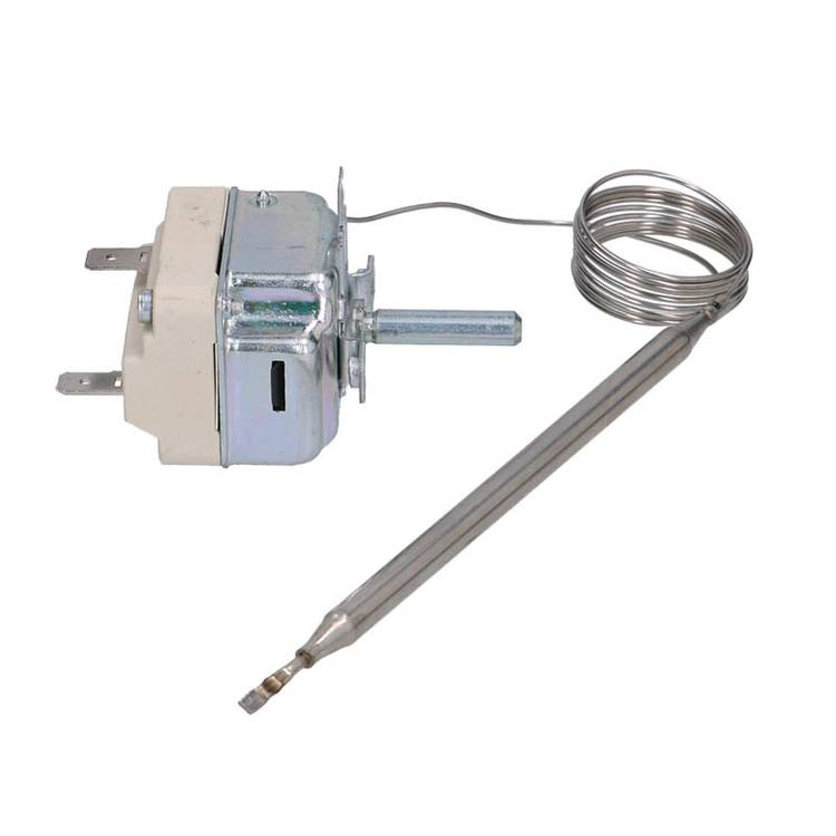 THERMOSTAT MIT KAPILLAR   1-POLIG 75 BIS 120°C EINSTELLBAR  F&Uum