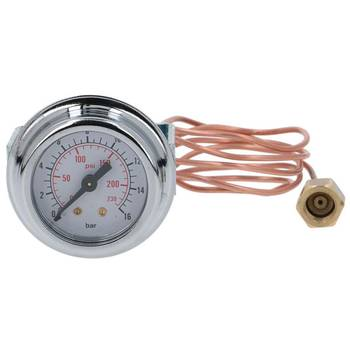 MANOMETER PUMPE | 0÷16 BAR | ø 41 mm | 1/8 | FÜR ISOMAC -...